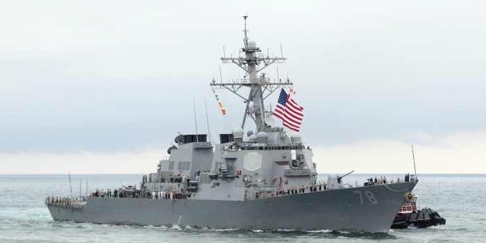 Москва пообещала ответить на заход кораблей США в Черное море