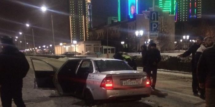 Опубликовано видео перестрелки в Грозном