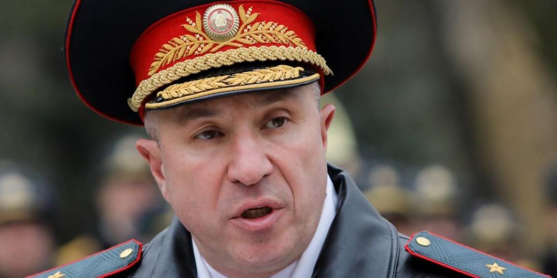 Глава МВД Белоруссии похвастался выдержкой и хладнокровием своих подчиненных