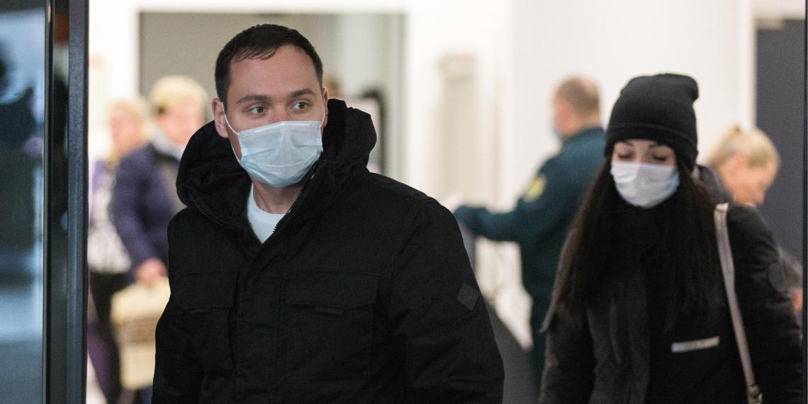 В России за сутки выявили 5642 новых случая заражения коронавирусом
