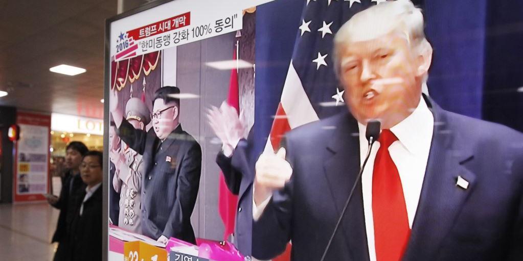 Трамп передумал встречаться с Ким Чен Ыном