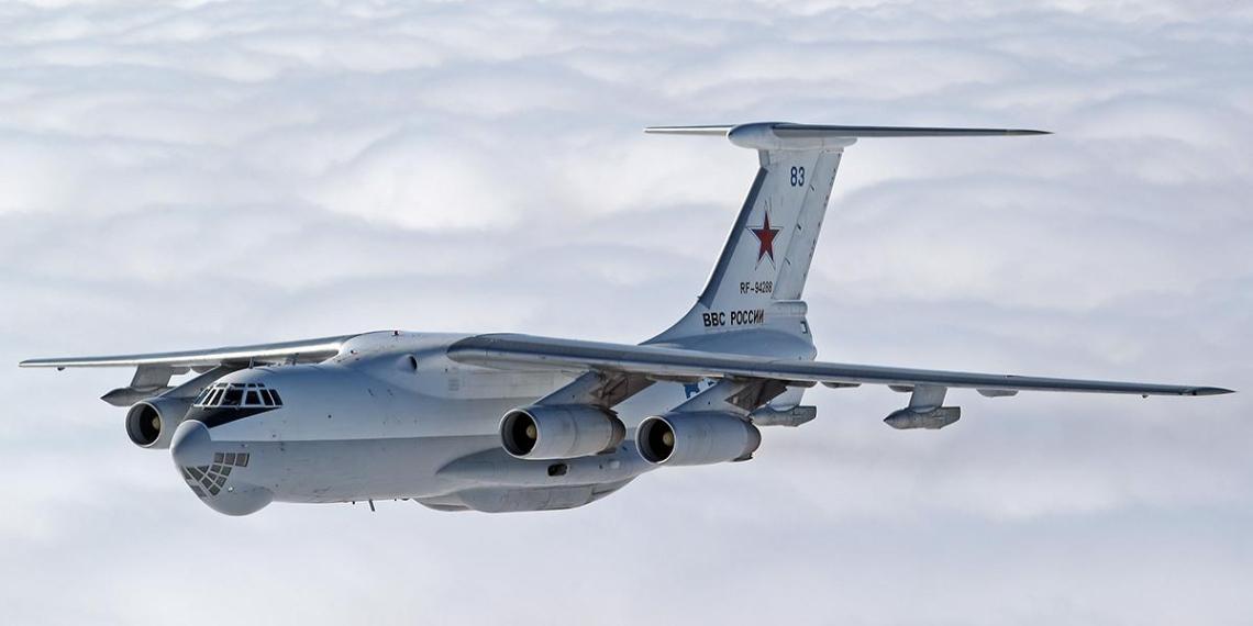 Первый российский Ил-76 вылетел в Сербию для борьбы с Covid-19
