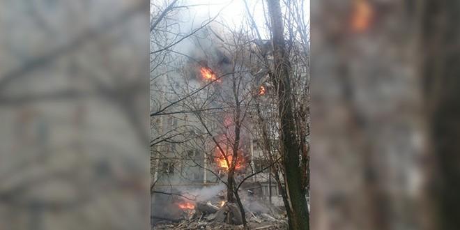 В девятиэтажном доме в Волгограде произошел взрыв