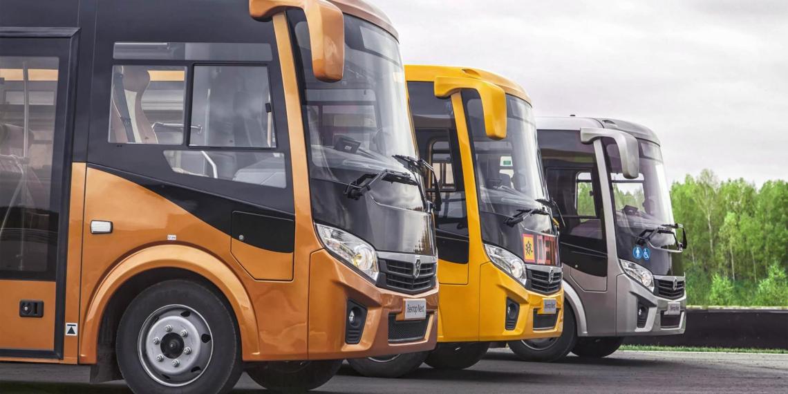 ГАЗ вывел на рынок новый автобус на сжатом природном газе