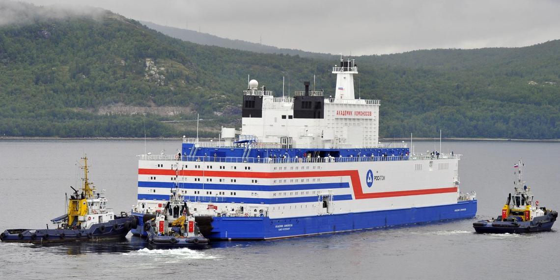 Россия первой в мире ввела в эксплуатацию плавучую АЭС