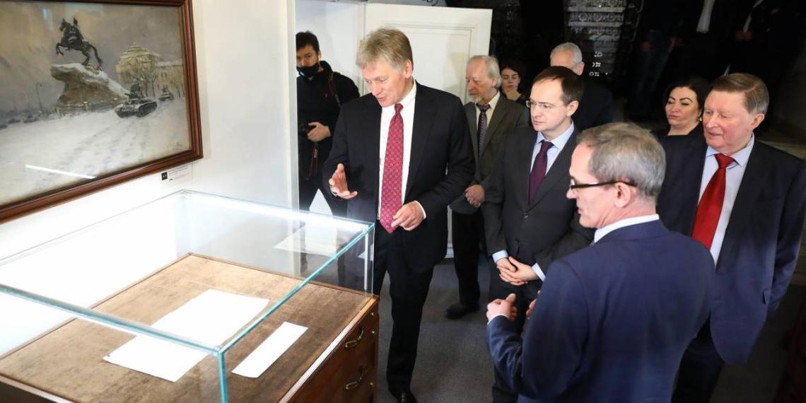 Вторая очередь Библиотеки военного историка открылась в штаб-квартире РВИО