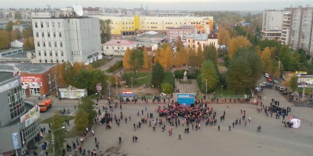 Власти помогли Навальному устроить митинг в Архангельске