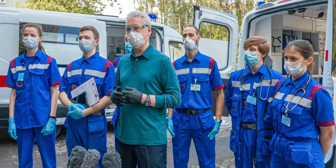 Собянин: летальность от коронавируса в Москве ниже, чем в мире