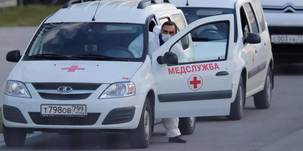 В России за сутки обнаружен 6361 случай заражения COVID-19