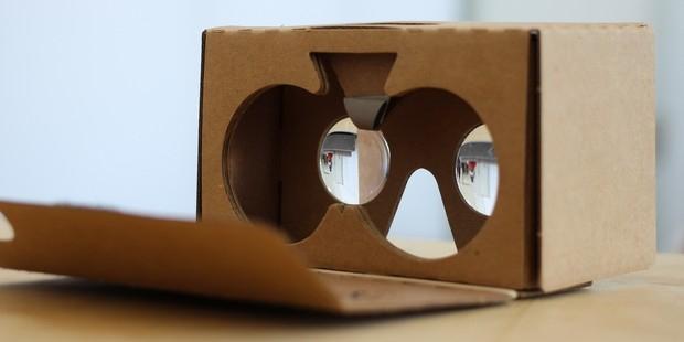 Google разрабатывает новые очки виртуальной реальности