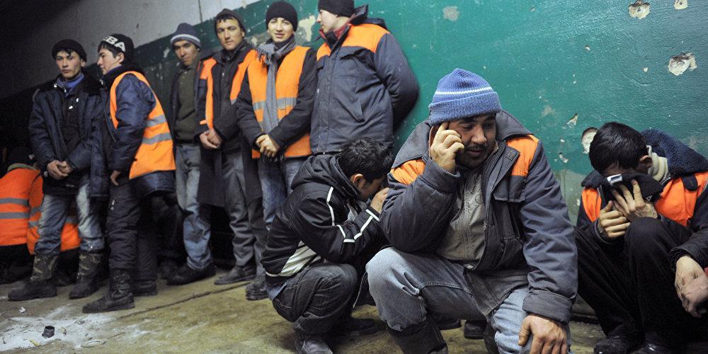 ФСБ раскрыла число прибывших в Россию гастарбайтеров