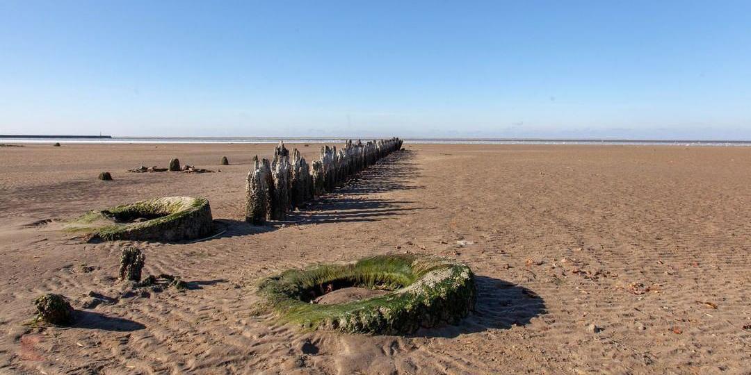 Азовское море обнажило дно впервые за несколько десятков лет