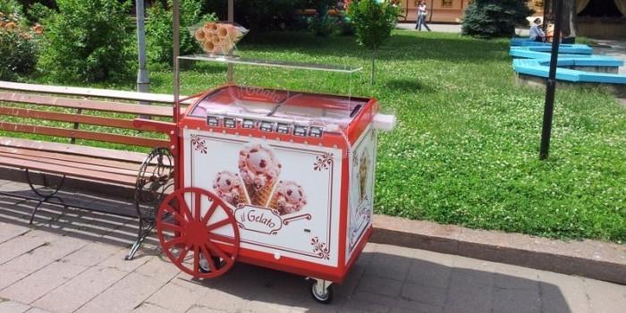 33-летний туляк украл тележку с мороженым, чтобы угостить женщин