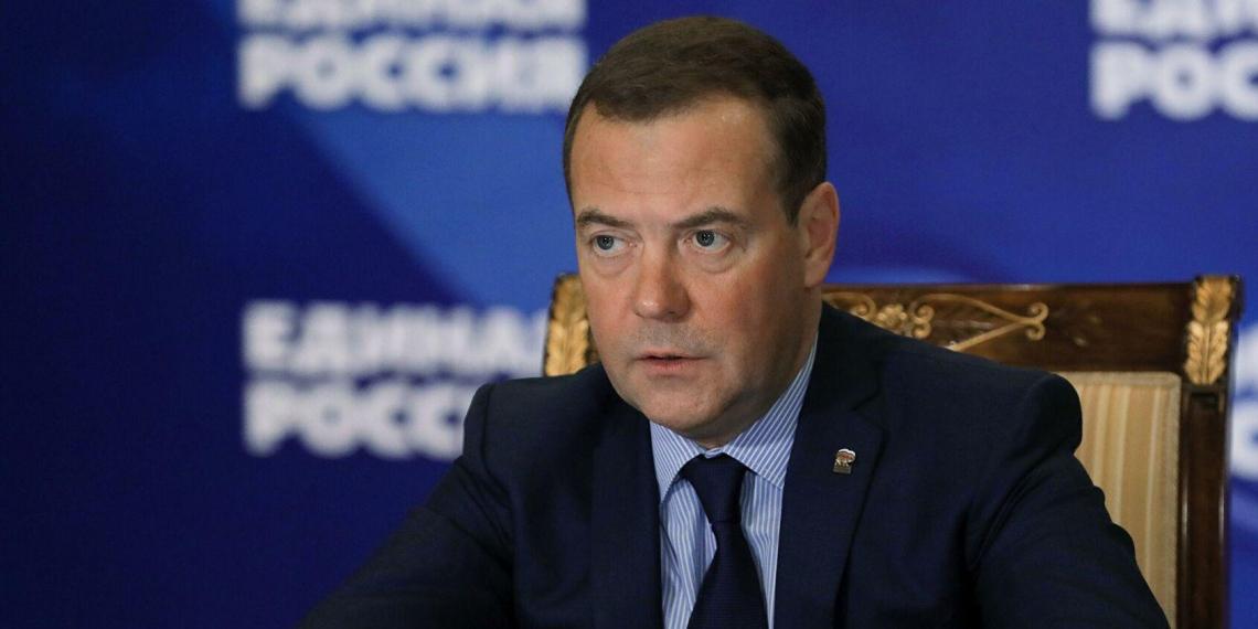 Медведев: Единая Россия на съезде отчитается о выполнении предвыборной программы 2016 года