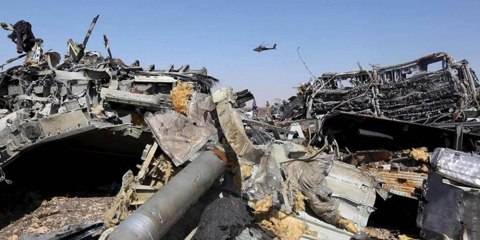Глава ФСБ: крушение A321 произошло в результате теракта