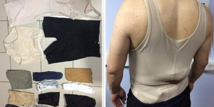 Китайцы облачились в женское белье, чтобы вывезти из России полудрагоценные камни