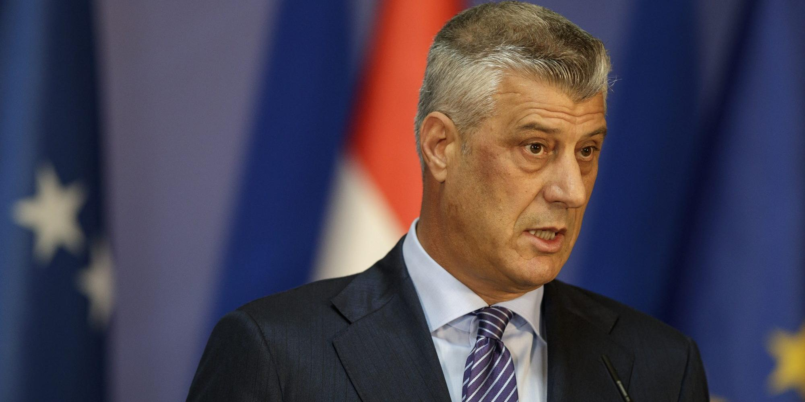Прокуратура в Гааге обвинила президента Косово в военных преступлениях