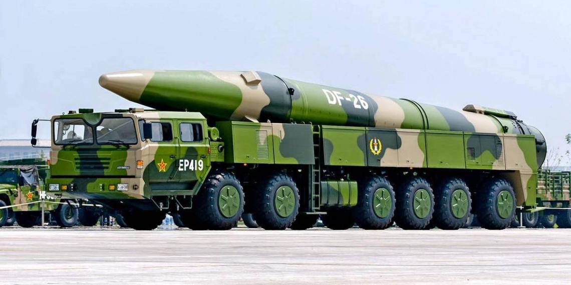 Washington Post: Китай строит более 100 шахт для запуска баллистических ракет