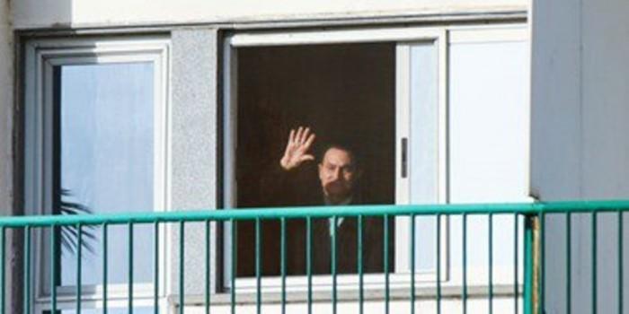 Мубарак покинул место заключения и вернулся домой