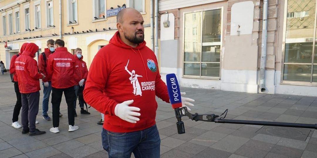 """Лидер """"Волонтёрской роты"""" призвал не допустить провокации на улицах российских городов"""