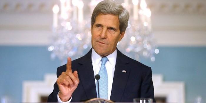 """Керри призвал расследовать действия России в Сирии как """"военные преступления"""""""