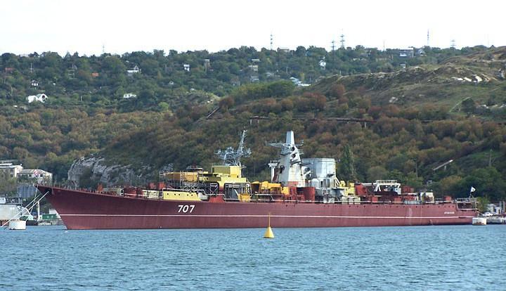 В Крыму успешно подняли «Очаков», замкнувший украинский флот в марте