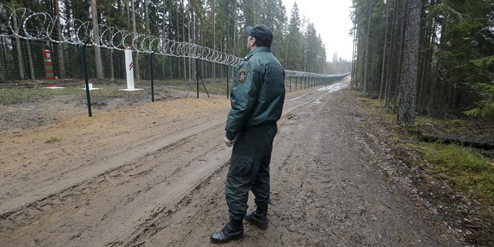 Латыши украли €3 млн на укреплении границы с Россией