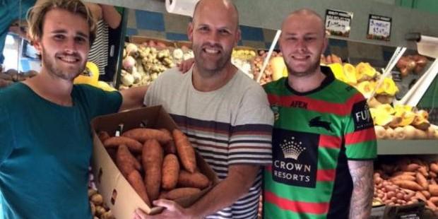 Австралиец решил похудеть, дав себе слово в 2016 году есть только картофель