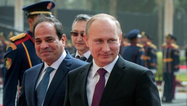 """Foreign Policy: в Египте """"дипломатия Калашникова"""" дала Путину политическую победу"""