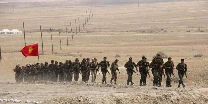 На границе Киргизии и Таджикистана начался вооруженный конфликт