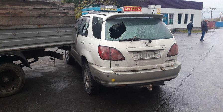 В Новосибирске Росгвардия по ошибке обстреляла не ту машину