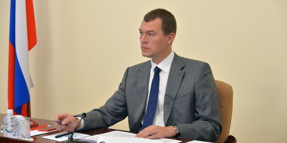Дегтярев сообщил о назначении нового зампреда правительства Хабаровского края