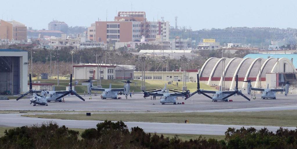 Японский школьник пострадал из-за американского военного вертолета