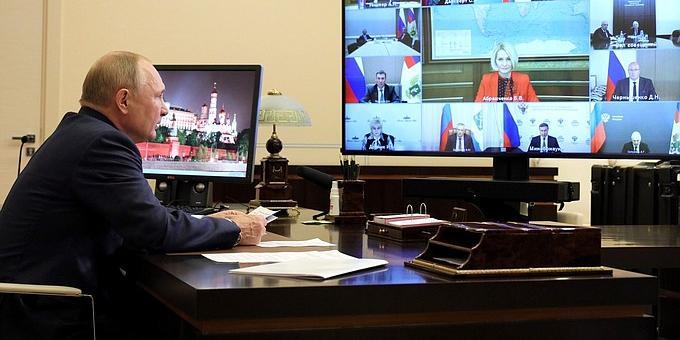 Путин попросил подготовить перечень поручений по развитию АПК