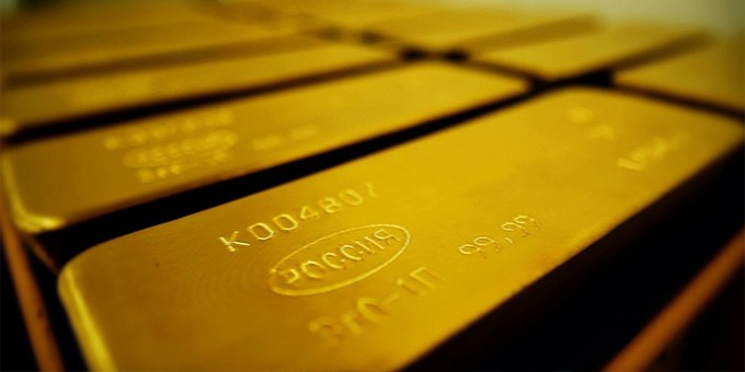 Резервы золота в РФ достигли максимума с 2004 года