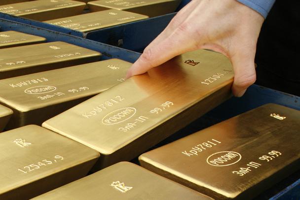 МВФ: золотой запас России достиг максимума за последние 20 лет