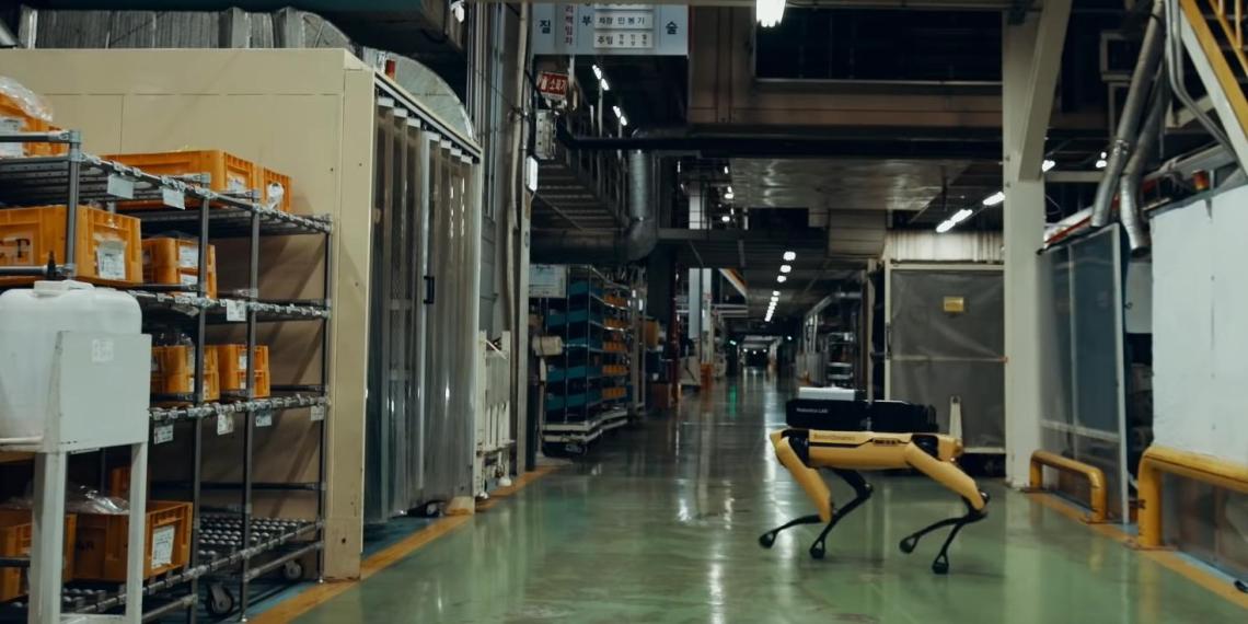 Hyundai научил роботов Boston Dynamics охранять свои заводы