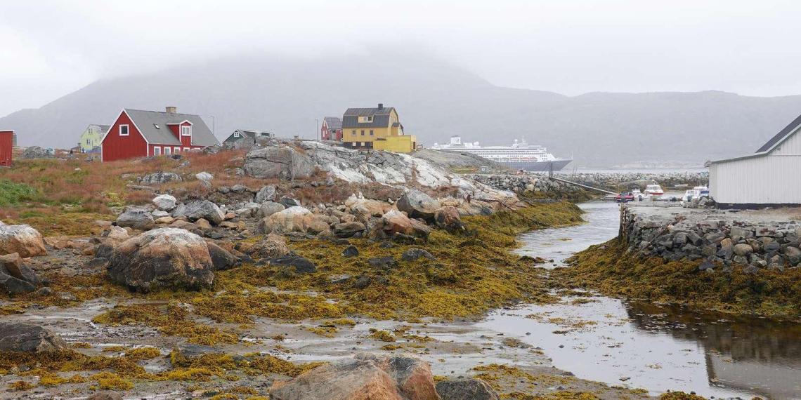 В Гренландии прошел первый дождь в истории