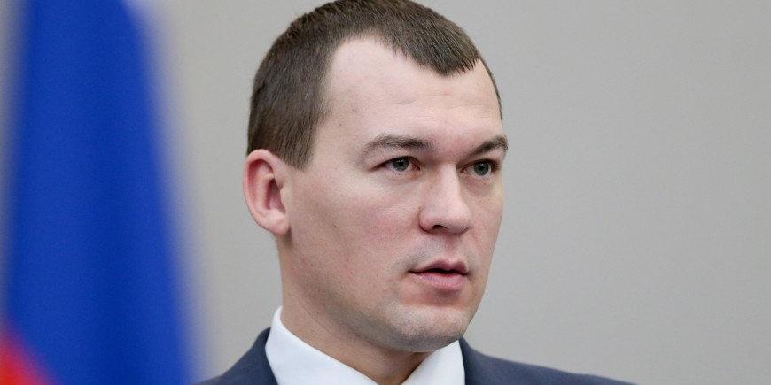 Михаил Дегтярев поручил пересчитать хабаровских медведей