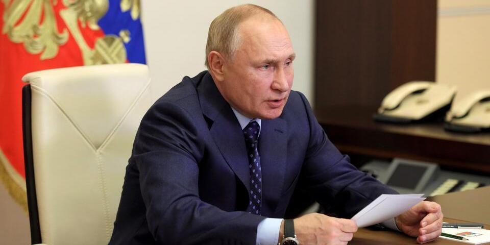 Путин: Россия может выйти на рекордный объем поставок газа по итогам 2021 года