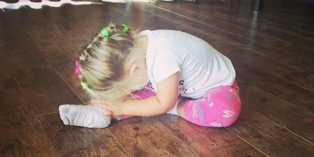 Двухлетняя дочь Пескова научилась говорить на китайском языке