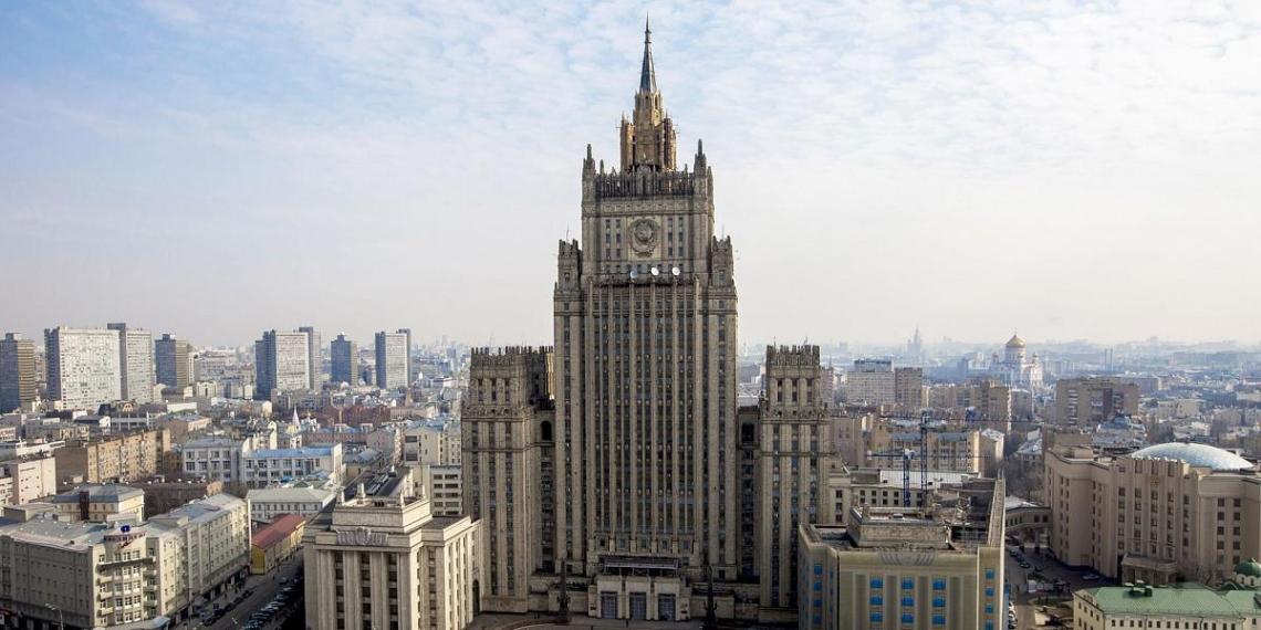 В МИД объявили о высылке дипломатов стран Балтии и Словакии