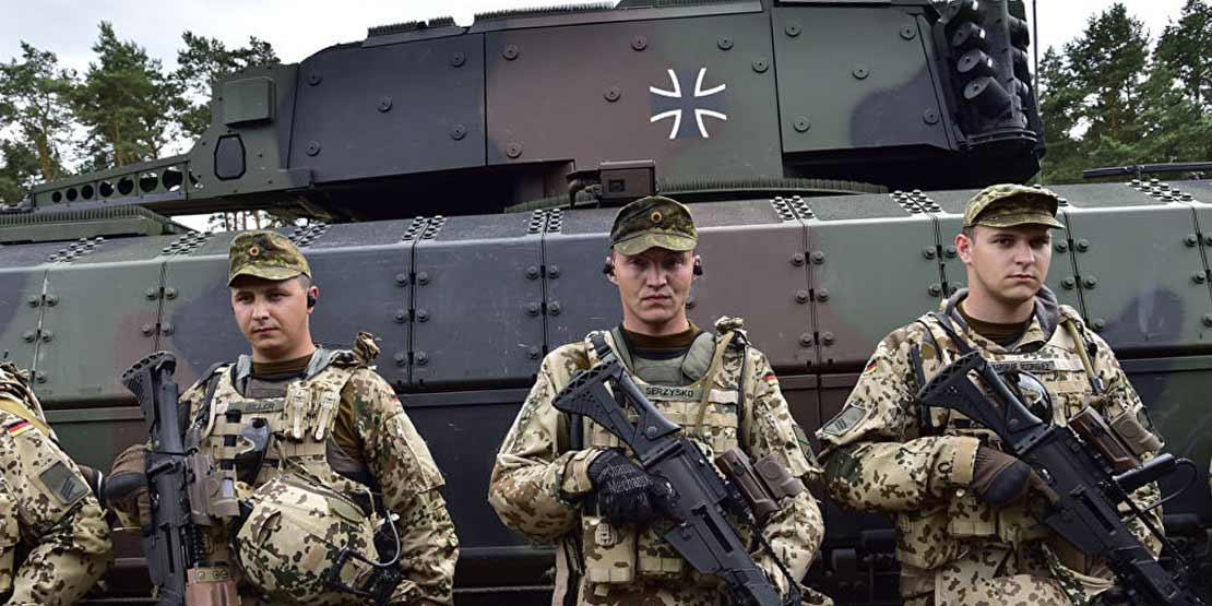 В Германии похвастались подготовкой к устрашению России