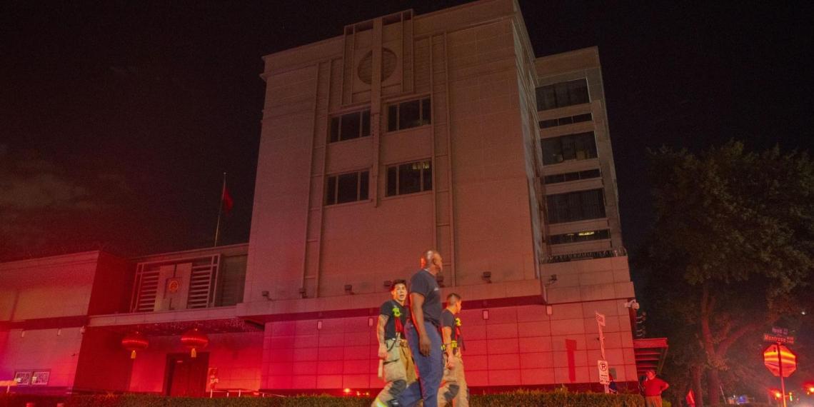 США заявили о воровстве американских медразработок консульством КНР в Хьюстоне