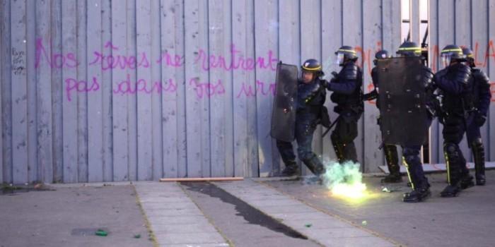 В Париже задержаны 140 протестующих против результатов выборов