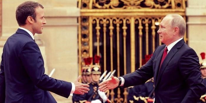 Путин и Макрон подвели итоги своей встречи