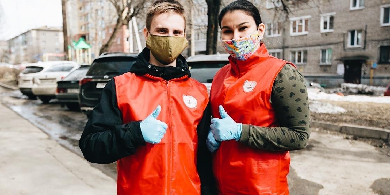 Волонтеры #МЫВМЕСТЕ станут помощниками врачей в борьбе с распространением Covid-19