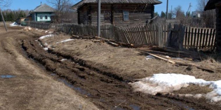 В Пермском крае пенсионер починил дорогу и получил административный протокол