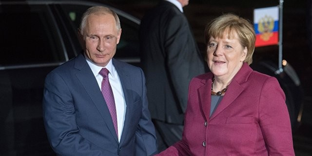 Путин обсудил с Меркель и Олландом ситуацию в Сирии