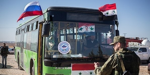 Террористы из Алеппо попросили эвакуировать их на автобусах с тонированными стеклами